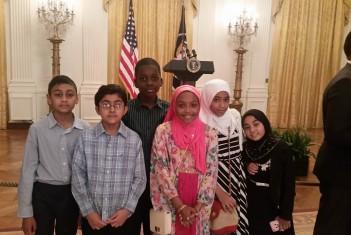 Al-Huda School Students Attend the White House Eid Reception