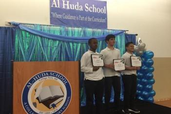 C-Span Bus Visits Al-Huda School