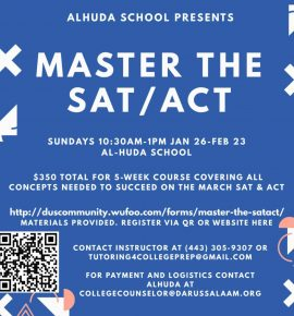 Master the SAT/ACT