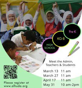 Al-Huda School Virtual Open House